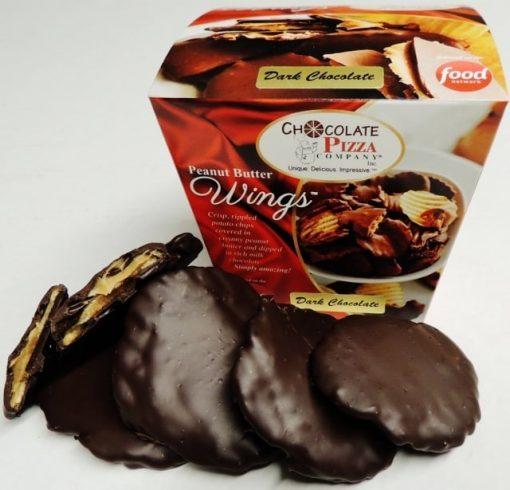 dark chocolate peanut butter wings