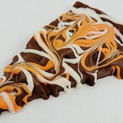 orange chocolate slice