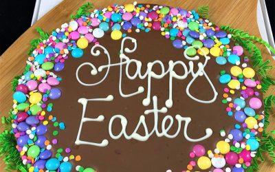 Easter Chocolate Has Evolved | Chocolate Pizza Helps the Easter Bunny
