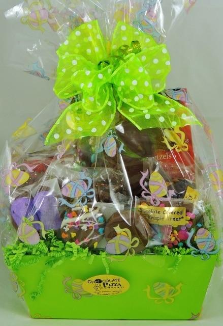 Hoppy Easter Basket Gourmet Chocolate