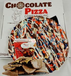combo Syracuse chocolate pizza avalanche