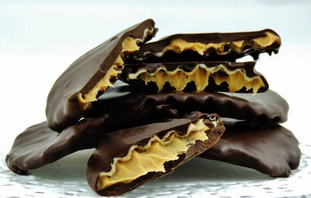 Chocolate Covered Potato Chips with a Twist | Peanut Butter Wings