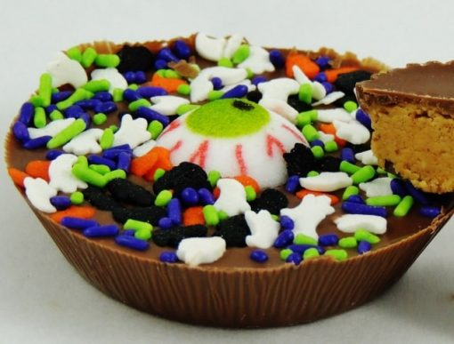 peanut butter cup Halloween party food ideas