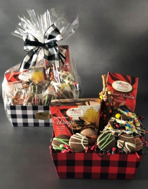 lumberjack gift basket for men
