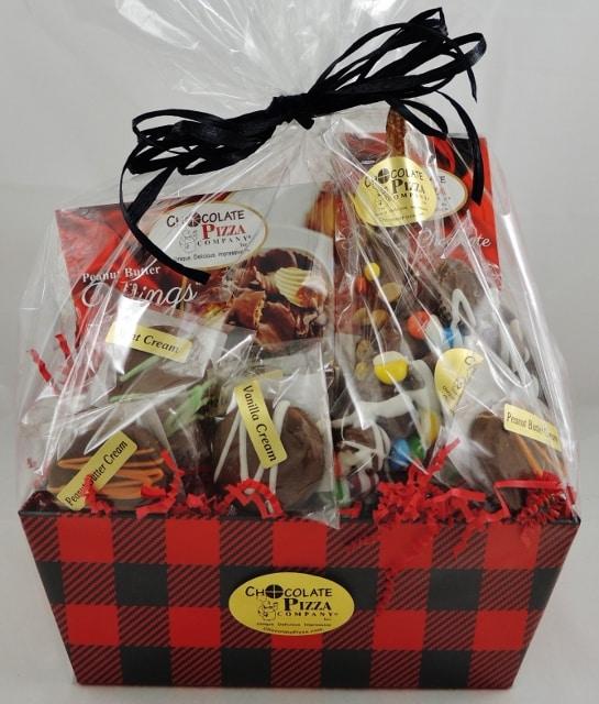 gift baskets for men lumberjack & Lumberjack | gift basket for men gourmet chocolate in red plaid ...