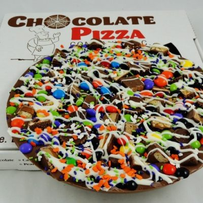 October avalanche Chocolate Pizza