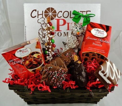 let it snow gift basket