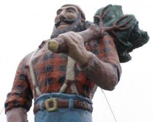 lumberjack paul bunyan