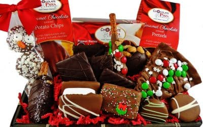 Chocolate Gift Baskets | unique holiday business gifts