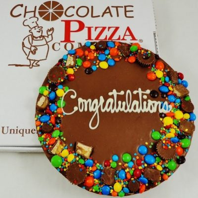 congratulations chocolate