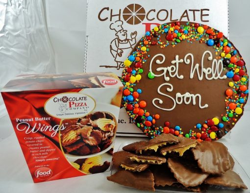 get well soon chocolate combo