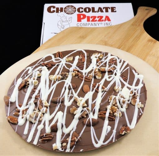 large chocolate pizza