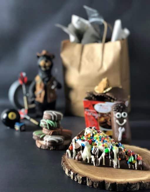 mansket chocolate gift basket for men