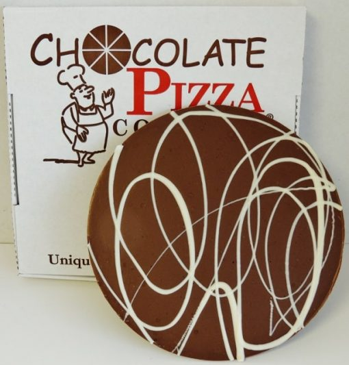 chocolate pizza plain milk