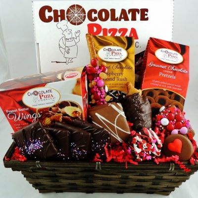 now and always Valentines basket