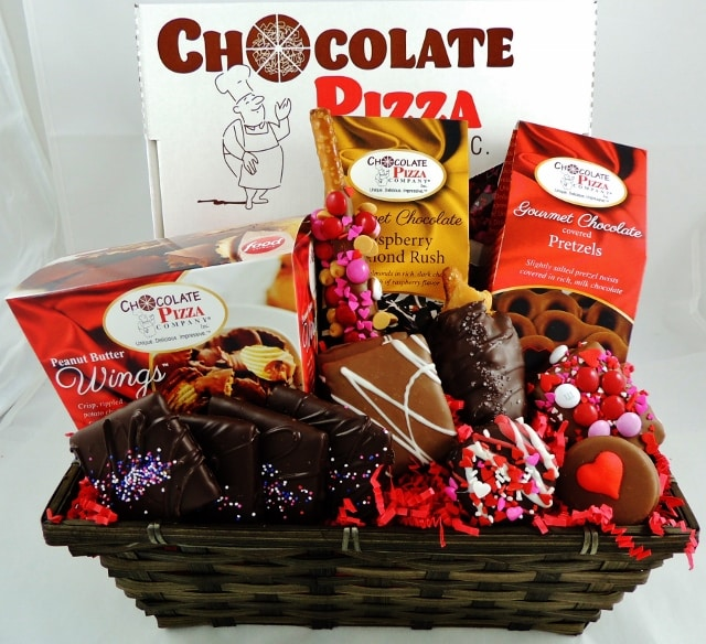 Valentineu0027s Gift Basket | Now and Always Deluxe Basket & Valentineu0027s Gift Basket | Now and Always Deluxe Basket