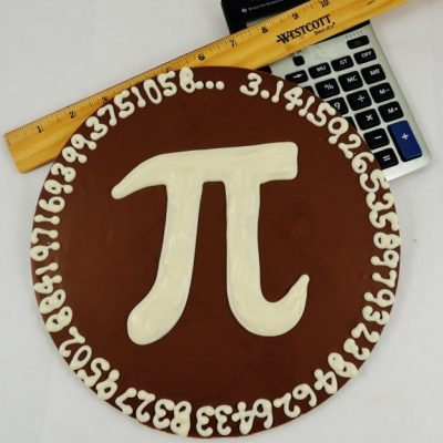 Pi Day Chocolate Pizza