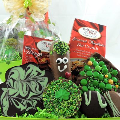 St Patricks Day gift basket