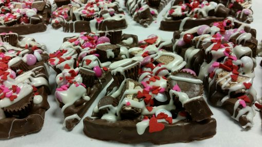 Valentines Avalanche Slice tray