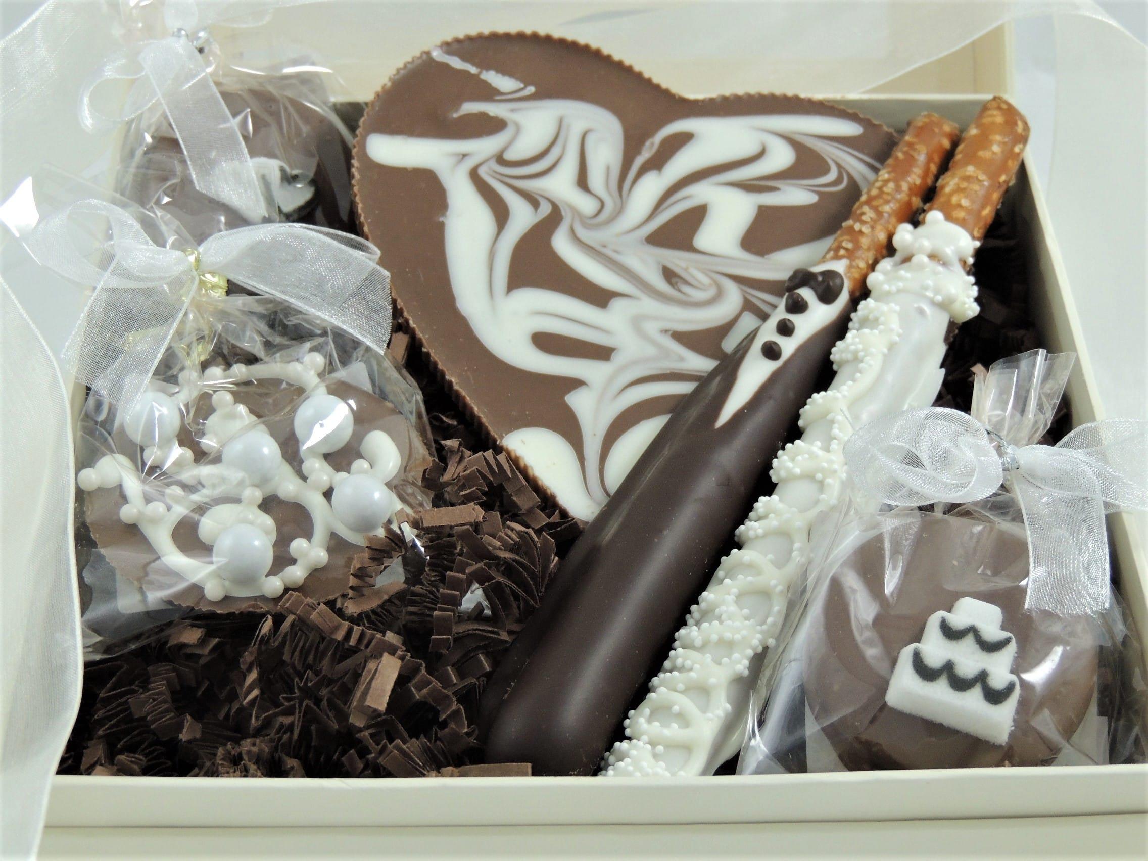 Wedding Wishes Gift Basket Sweet Treats Smiles