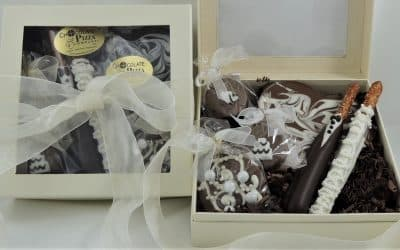 Wedding Gifts for Guests | fun chocolate treats for out of town guests