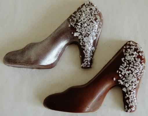 high heel wedding favors