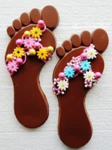 fancy flip flop favors