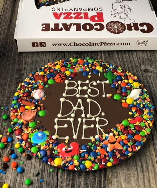 best dad ever chocolate pizza gifts for dad