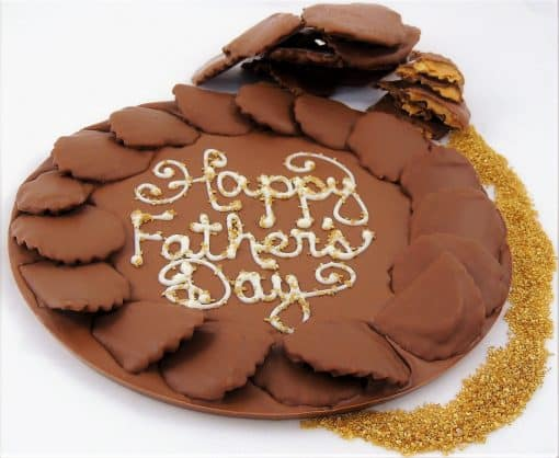 good fathers day gifts chocolate pizza