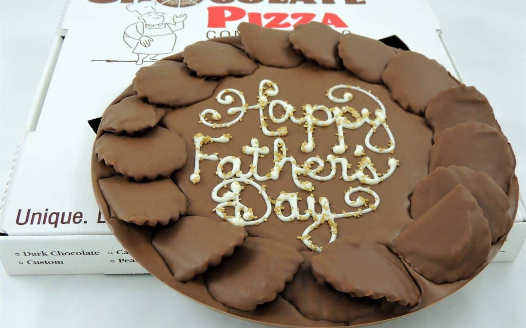 Fathers Day chocolate gifts for dad | surprise him with Chocolate Pizza
