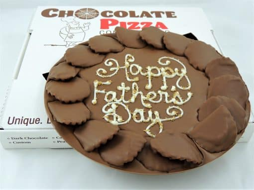 Fathers Day gift Chocolate Pizza