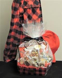 Lumberjack gift basket