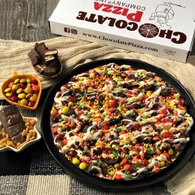 autumn avalanche chocolate pizza