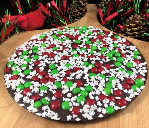 snowflake chocolate pizza dark