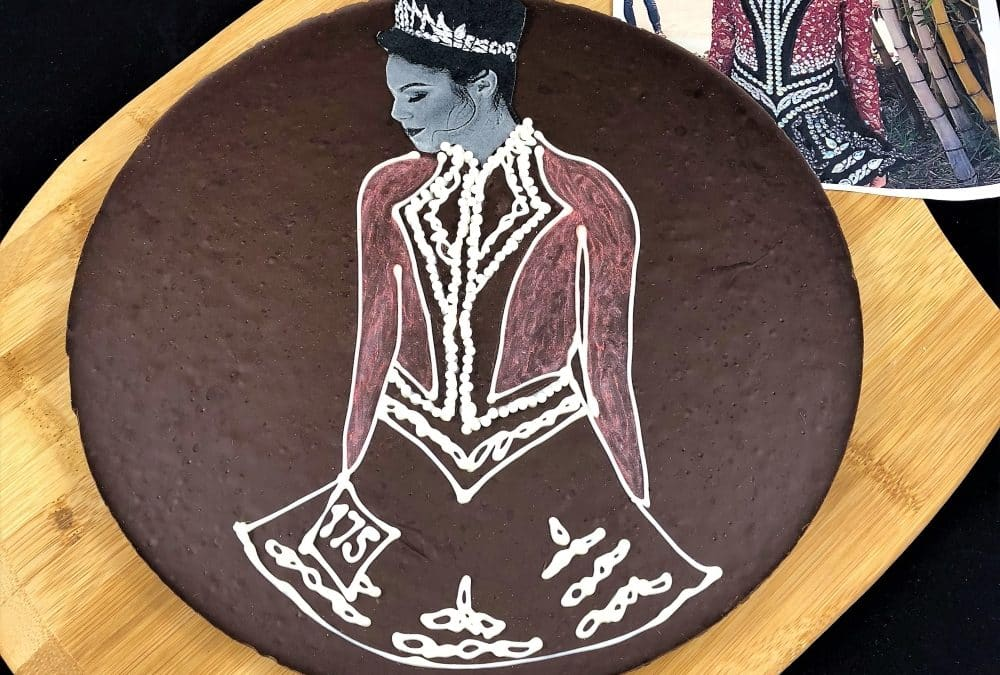 Custom Chocolate Pizza | art meets taste in a unique gift