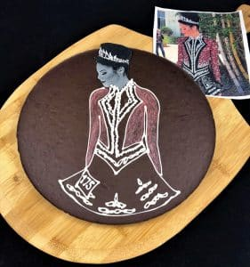 custom Chocolate Pizza Orla Godley world champion Irish dancer