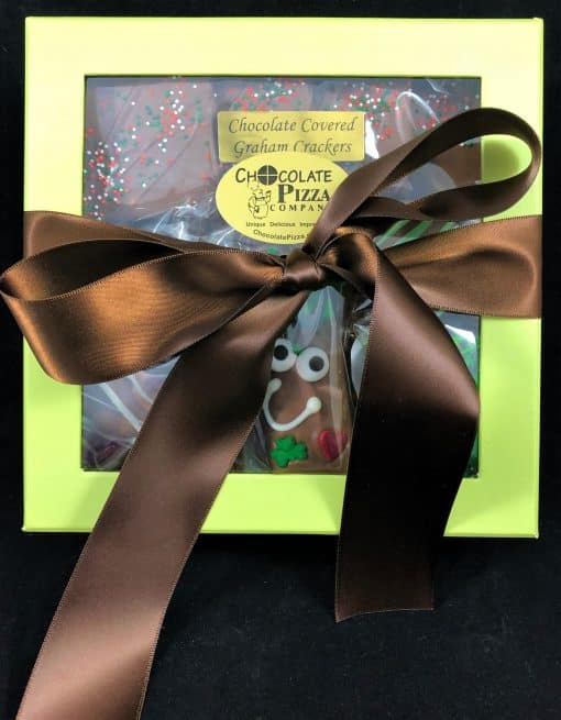 Irish Eyes are Smiling Gift Box - green box