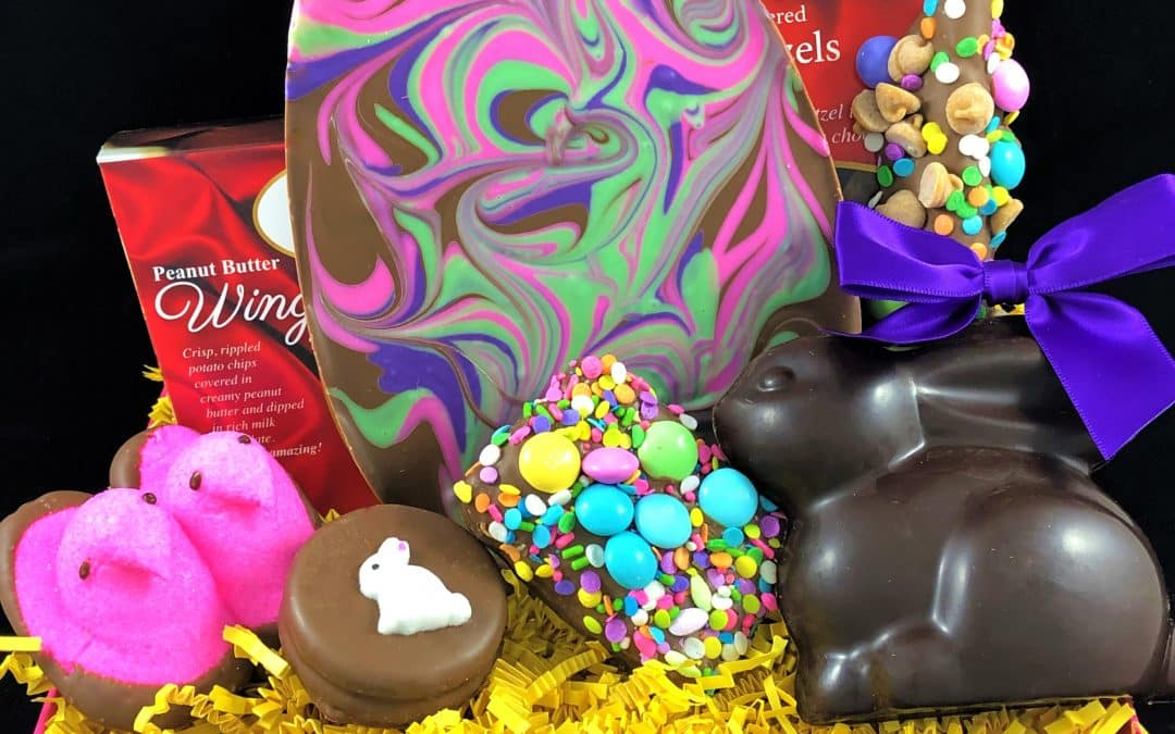 It Isn't an Easter Basket if it doesn't have a Solid Chocolate Bunny