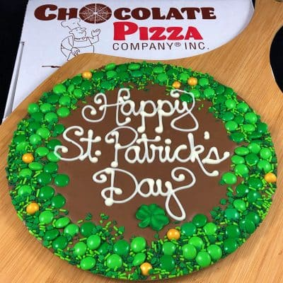 St. Patrick's Day Chocolate Pizza