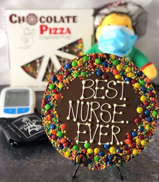 best nurse ever chocolate pizza