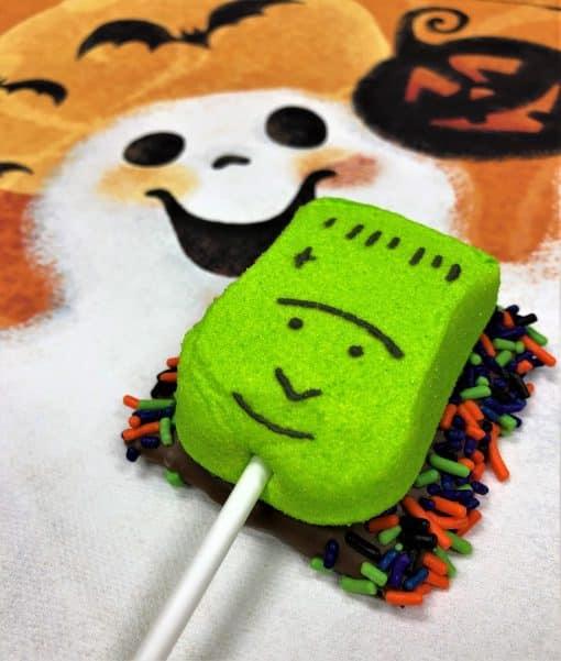 Frankn Smore Halloween treat