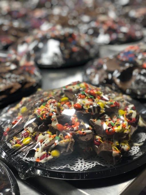 chocolate platter