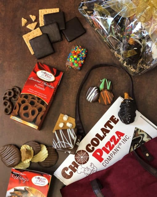 chocolate cravings gift basket treats