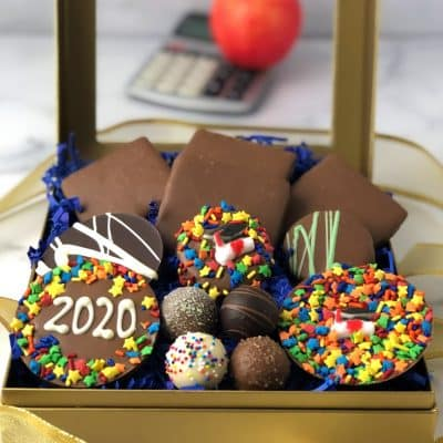 hats off graduate gift box of chocolates