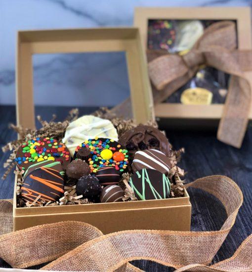 sweet thanks guys chocolate gift box