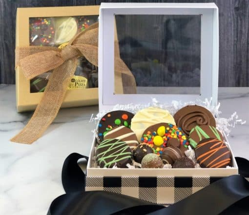 gift box of chocolates assorted sweets