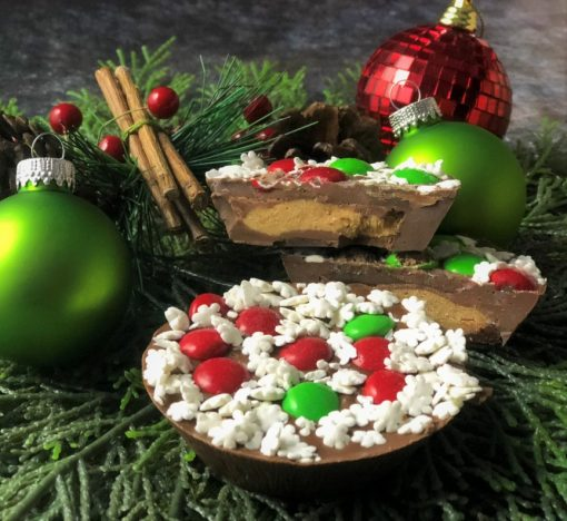 peanut butter cup holiday decorations