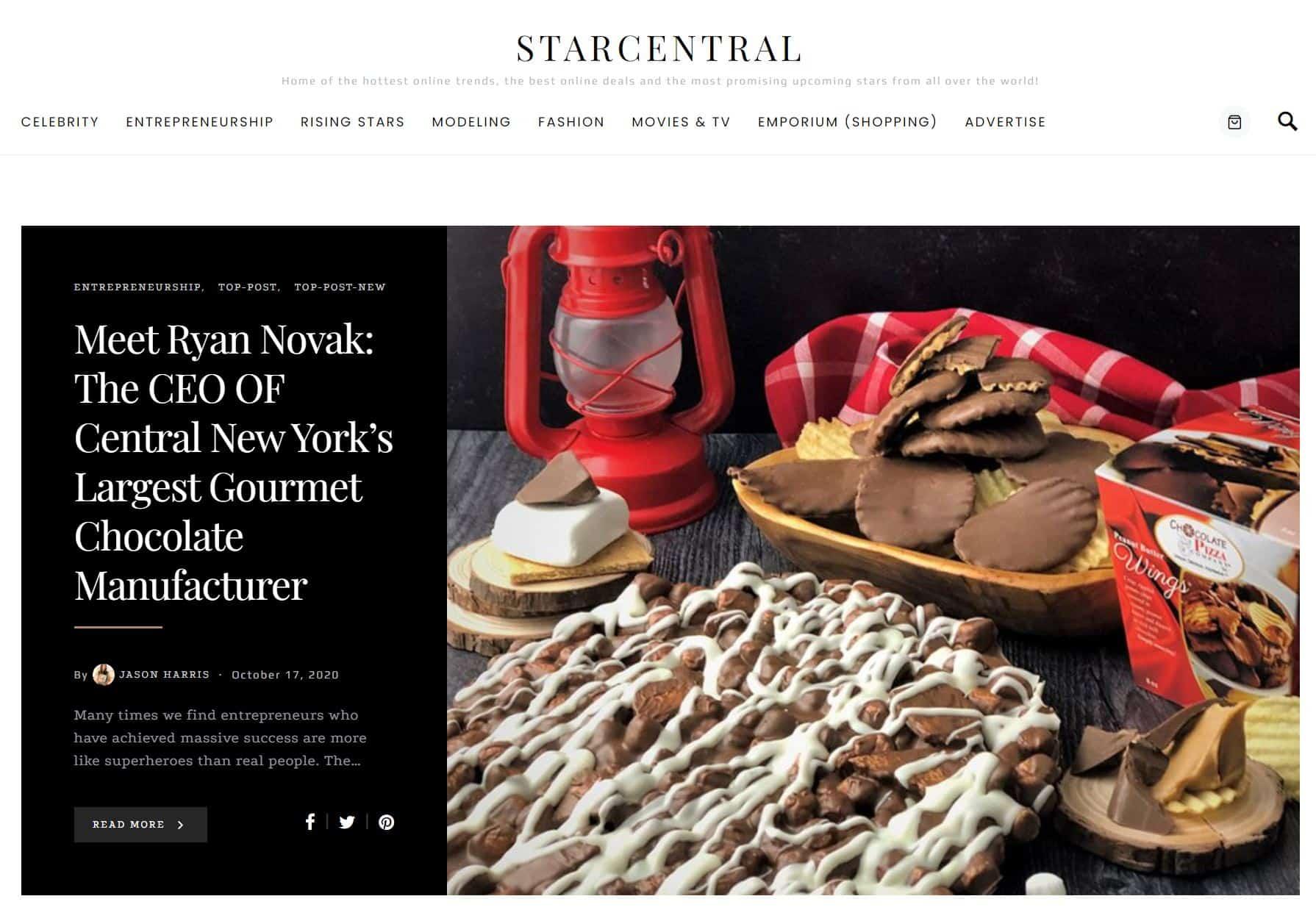 Star Central Magazine News
