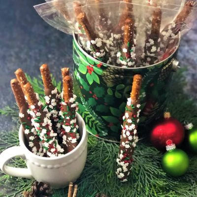 office gift for the holidays 20 pretzel rods
