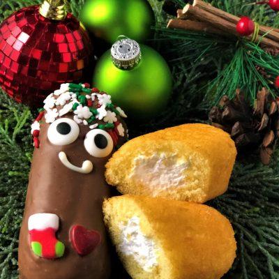 holiday Moompa chocolate covered sponge cake